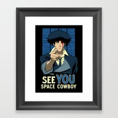 Uncle Spike Framed Art Print