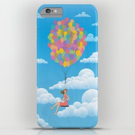 Balloon Girl iPhone Case