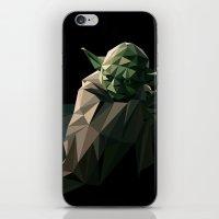 Geometric Yoda iPhone & iPod Skin