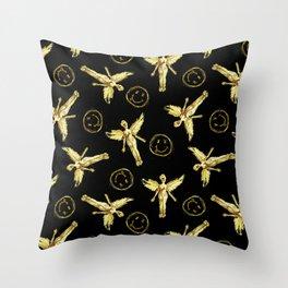 Nirvana Icons 3 Throw Pillow