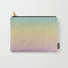 Pastel Rainbow Ombre Gradient Carry-All Pouch