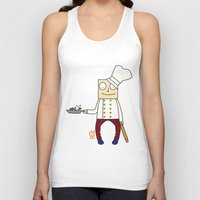 chef Tank Tops featuring THE CHEF!! by Riot Clothing