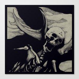 Vebaek hunter Canvas Print