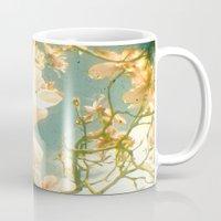 magnolia Mugs featuring Magnolia by Cassia Beck