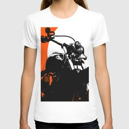 """""""Motorcycle wheel"""" - Classic Car Lovers T-shirt"""