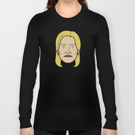 Face of Breaking Bad: Skyler White Long Sleeve T-shirt