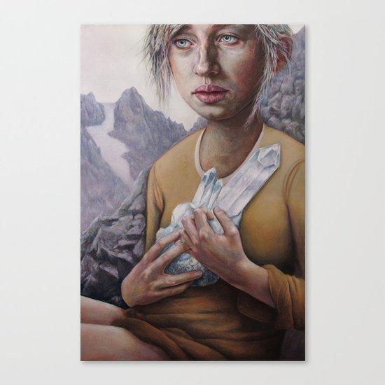 The Death of Crystallina Canvas Print