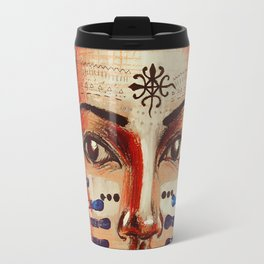 Indigenous Girl Travel Mug