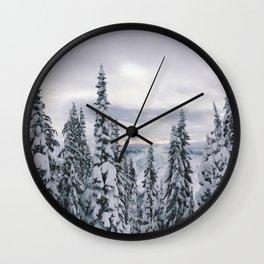 Waist Deep Wall Clock
