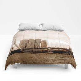 The Erasmus Bridge Comforters