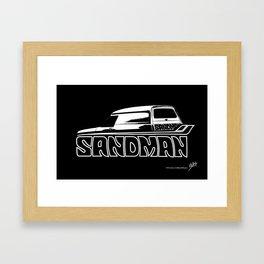 Holden Sandman Panel Van Framed Art Print