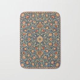 William Morris Floral Carpet Print Bath Mat