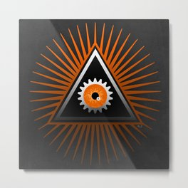 A Clockwork Orange eye Metal Print