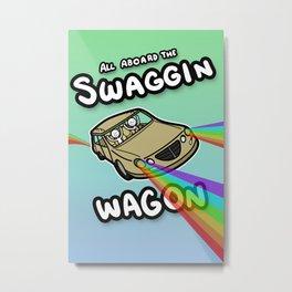 Swaggin Wagon Metal Print