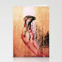 flamingo Stationery Cards featuring Flamingo by Fernando Vieira