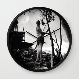 Top of the Jungle Wall Clock