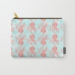Cheerful Cute Octopus Carry-All Pouch