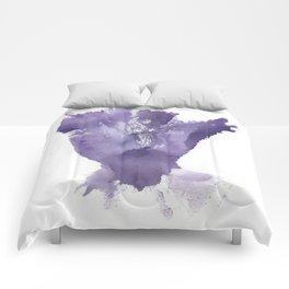 Allie's Vulva Print No.1 Comforters