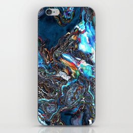 Abstract Waves of Color iPhone Skin