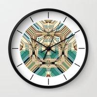supreme Wall Clocks featuring Supreme by David Lee