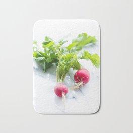 Spring Radishes Bath Mat
