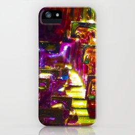Rainbow Bismuth iPhone Case