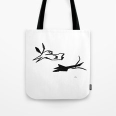 Both Tote Bag