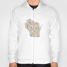 Wisconsin by County Hoody