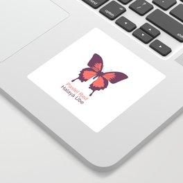 Ulysses Butterfly 3 Sticker
