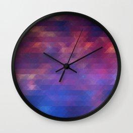 Pixelized Galaxy Wall Clock