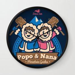 Popo & Nana Wall Clock