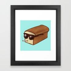 Cool Bread Framed Art Print