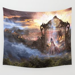 Arrival of the Beast Wall Tapestry