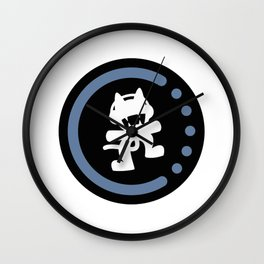 MonsterCat logo  Wall Clock