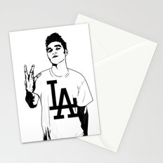 Panic on the streets of LA Stationery Cards