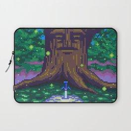 Master Sword Beneath the Great Deku Tree Laptop Sleeve