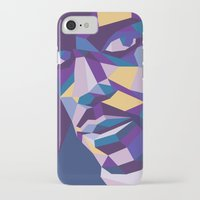 prince iPhone & iPod Cases featuring Prince by Liam Brazier