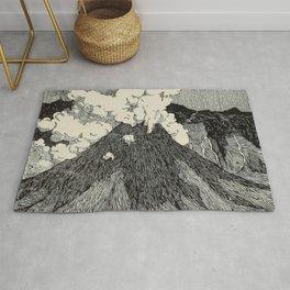 Naturalist Volcano Rug