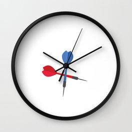 Darts OOPS I Darted Funny Darts Wall Clock