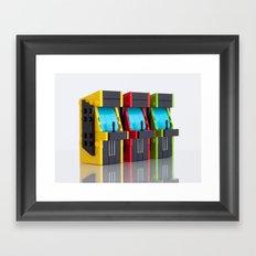 Game On! Framed Art Print