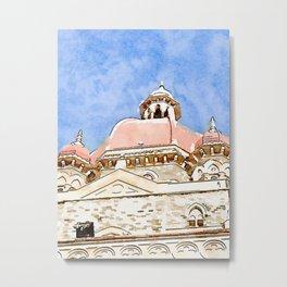 Taj Palace Metal Print