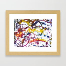 BACH: Sonata No 1 in G minor        by Kay Lipton Framed Art Print