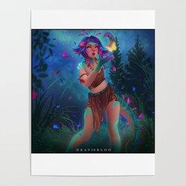 Neeko fanart by Neavis Poster