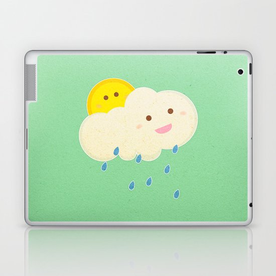 Raining day Laptop & iPad Skin