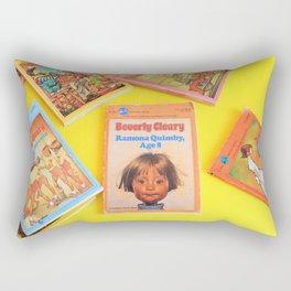 Ramona Quimby Age 8 Rectangular Pillow