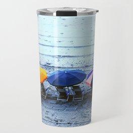 Myrtle Beach Umbrellas Travel Mug