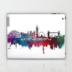 London skyline city blue  Laptop & iPad Skin