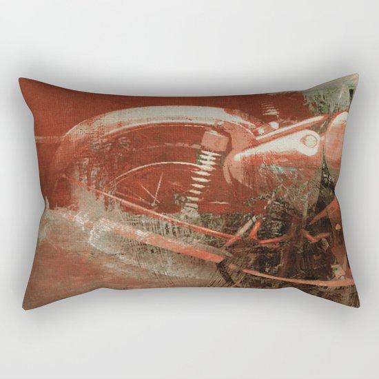 Strong Action Rectangular Pillow