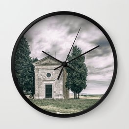 Cappella della Madonna di Vitaleta Wall Clock
