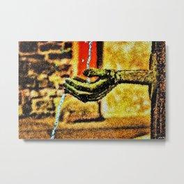 'Come Drink Life's Waters Free' Portrait by Jeanpaul Ferro Metal Print